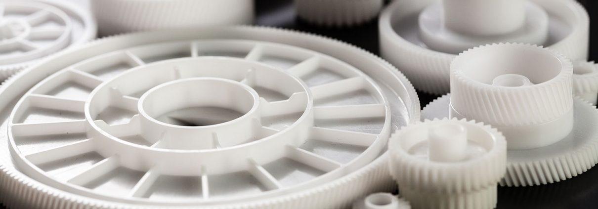 Custom plastic gears