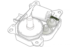 Servomotor Plastic Gears